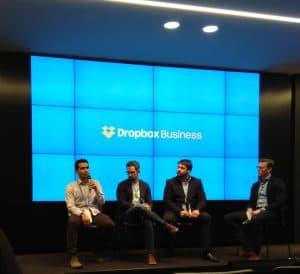 Yener Adal speaks at Dropbox Business Seminar